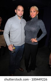 Mario Monge and Mary Carey  at Bridgetta Tomarchio's Birthday Bash and Babes in Toyland 3rd Annual Charity Event, Bar 210, Beverly Hills, CA. 12-03-10