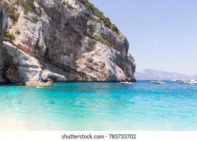 Mariolu Beach, Orosei Gulf, Baunei, Sardinia, Italy.
