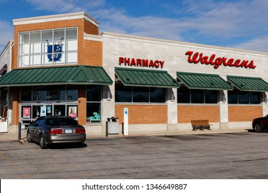 Marion - Circa March 2019: Walgreens Retail Location. Walgreens is an American Pharmaceutical Company V
