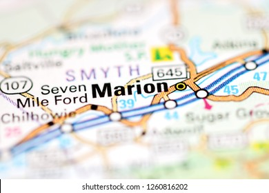 Marion Virginia Map.Marion Map Images Stock Photos Vectors Shutterstock