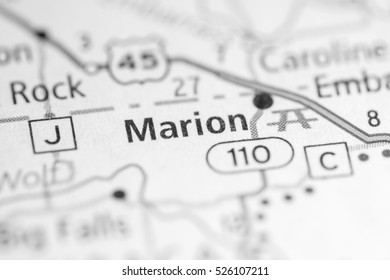 Marion Wisconsin Map.384 Marion Marion Map Images Royalty Free Stock Photos On Shutterstock