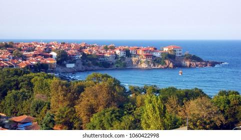 Maritime town Sozopol, Bulgaria.
