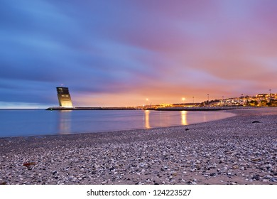 Maritime Traffic Control Tower, Oeiras, Lisbon, Portugal, Europe