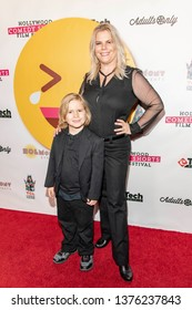 Marjorie DeHey attends 2019 Hollywood Comedy Shorts Film Festival at TCL Chinese Theatres 6, Hollywood, CA on April 20, 2019