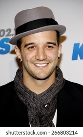 Mark Ballas at the KIIS FM's Jingle Ball 2012 held at the Nokia Theatre LA Live in Los Angeles on December 1, 2012.