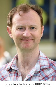 Mark Gatiss attending the Shrek The Musical Press Night, at the The Theatre Royal, London. 14/06/2011  Picture by: Alexandra Glen / Featureflash