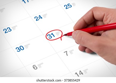 Mark on the calendar at March 31, 2016. Save the date.