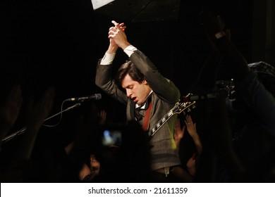 Mark Ronson live in Tel Aviv, Israel, December 4th, 2008