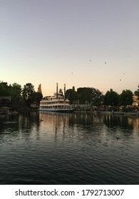 Mark Twain Riverboat ride at Disneyland California