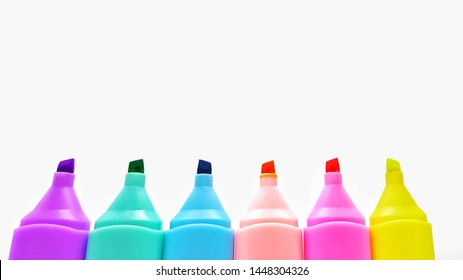 Markers are used for highlighting important messages. To have a distinctive color that is easy to see.