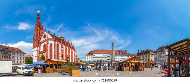 Würzburg, market