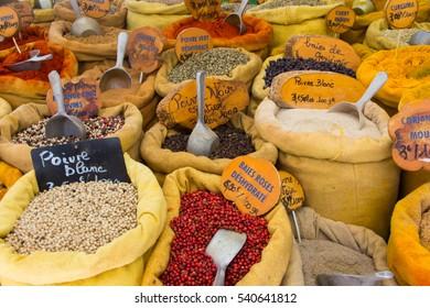 Market Ajaccio Corsica