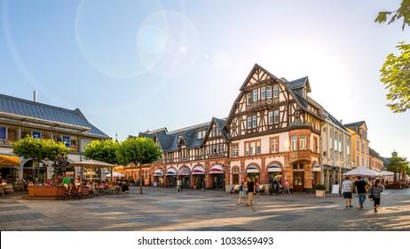 Market, Bad Homburg vor der Höhe, Germany