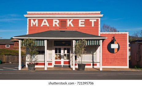 Market building on main street.