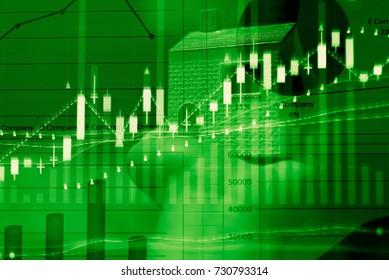 Market cost economy analysis background Economy stock exchange financial. Economy financial stock market exchange cost indicator on LED. Digital financial stock market cost exchange indicator analysis