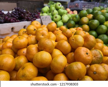 Market of fruit, which in the picture is orange.grapefruit harvest close up for food textures.These bright-colored fruits and vegetables contain zeaxanthin, flavonoids, lycopene, potassium, vitamin C