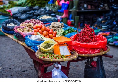 market impressions in sumatra