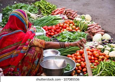 Market at Jaisalmer, India