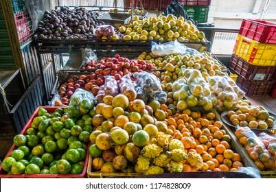 Market in Medellin Colombia
