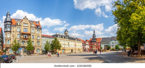 Market Panorama, Eisenach, Germany