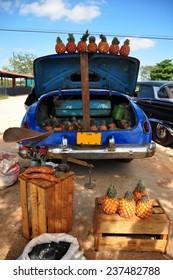 Market place in Cuba