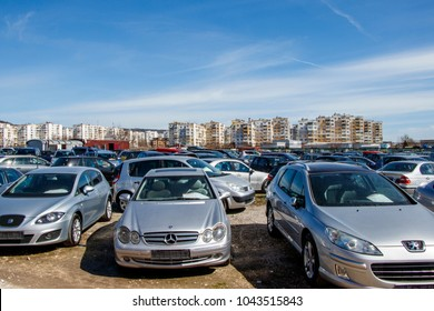 the market of second-hand cars bulgaria varna 11.03.2018