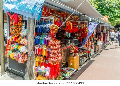 Market stall in Singapore