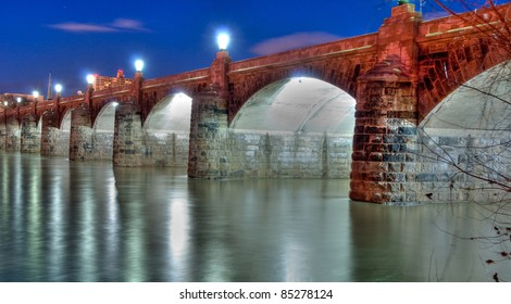 Market Street Bridge in Harrisburg, Pennsylvania.