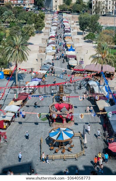Market in Valencia
