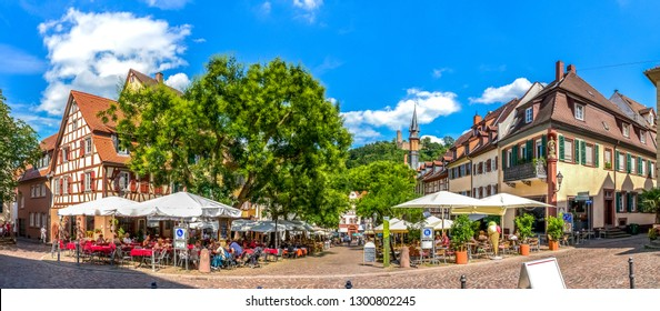 Market in Weinheim, Germany