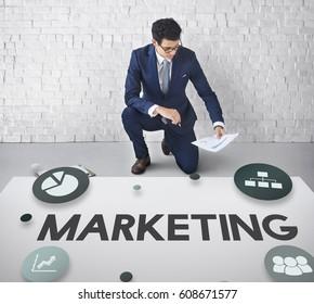 Marketing Creative Process Strategy Development Concept