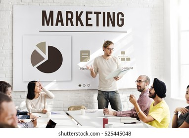 Marketing Organization Management Strategy Concept