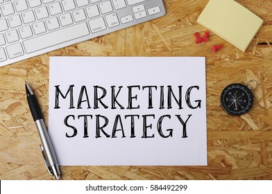 """""""MARKETING STRATEGY"""" Word on Office Workplace"""