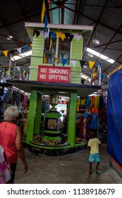 MARKETS, CASTRIES,ST LUCIA-8th SEPTEMBER 2017:-The markets in castries sell a multitude of wares to locals and tourists alike