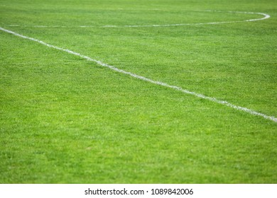 marking on the football field, background texture