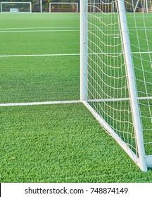 markings on a football stadium