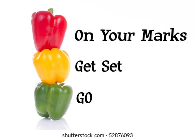Marks, get set,go peppers