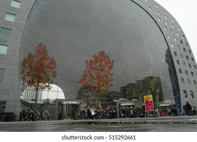 The Markthal Rotterdam Netherlands November 2016