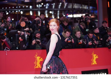 Marleen Lohse arrives for the closing ceremony of the 69th BerlinaleFestival Berlin at Berlinale Palace on February 16, 2019 in Berlin, Germany.