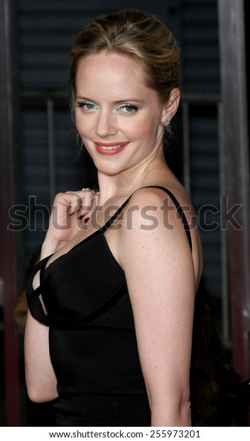 "Marley Shelton attends the Los Angeles Premiere of ""The Number 23"" held at the Orpheum Theater in Los Angeles, California on February 13, 2007."