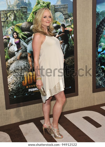 Marley Shelton Los Angeles Premiere Journey Stock Photo