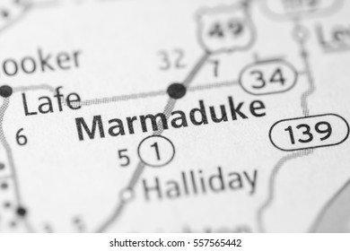 Marmaduke. Arkansas. USA