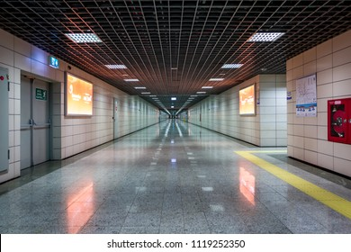 The Marmaray metro station in Istanbul, Turkey