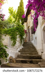 Marmaris city Turkey old streets.