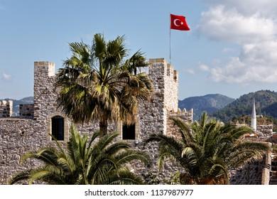 Marmaris Kalesi , Marmaris Castle , Marmaris , Turkey