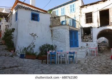 Marmaris old town view