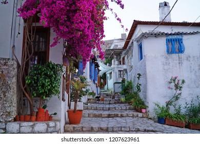 Marmaris sokaklari. Streets of Marmaris. Turkey, Mugla