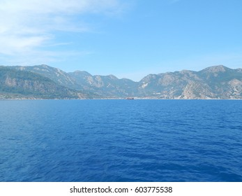 Marmaris in Turkey is a resort town on the Mediterranean Sea