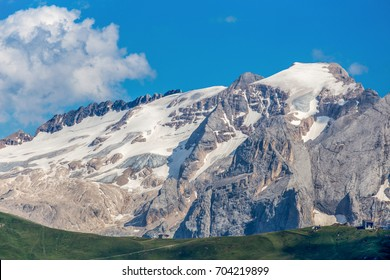 Marmolada named as the Queen of the Dolomites is a mountainous mountain group of the Alps, the highest in the Dolomites, reaching the highest point with Punta Penia (3,343 m). italy