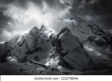 Marmolada peak Italy